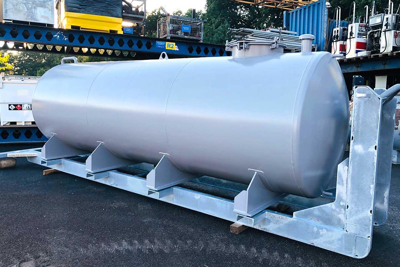 10.000l Abroller-Wassertank